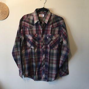 Men's Levi's size large buttoned down shirt